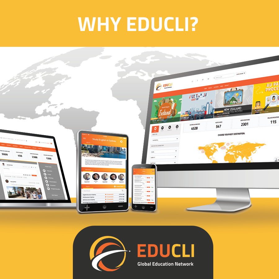 WHY IS EDUCLI A PASSIONATE ABOUT HELPING PEOPLE TO STUDY ABROAD?