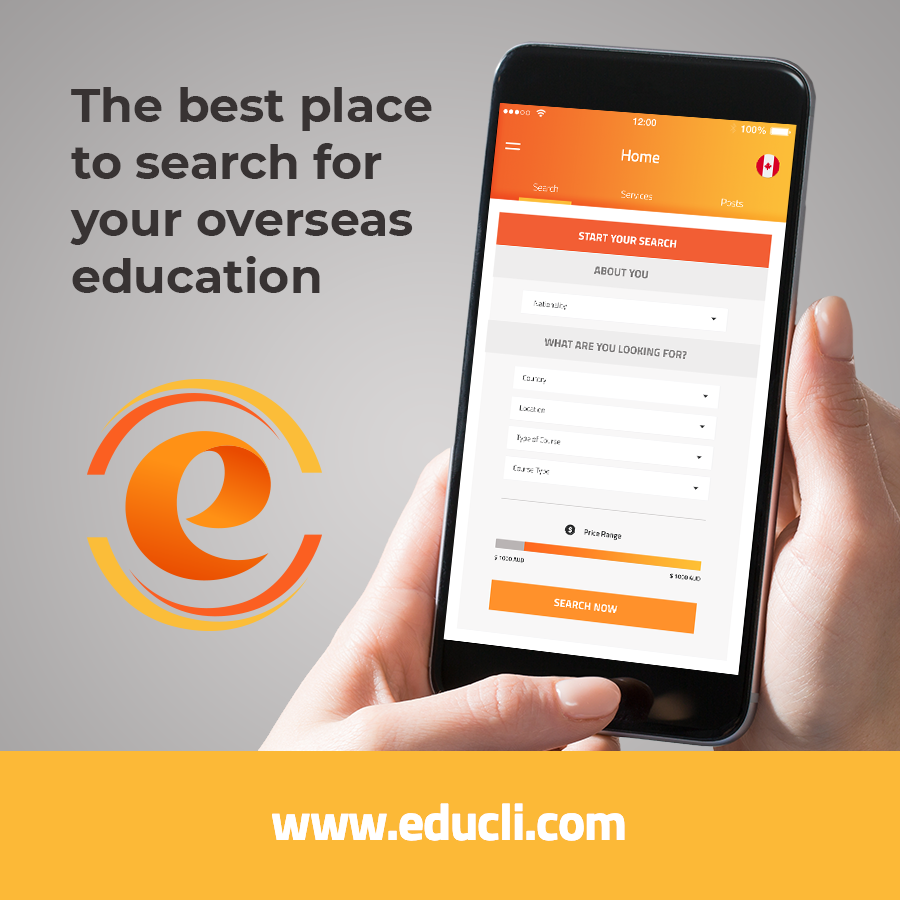 THE BEST PLACE TO SEARCH FOR YOUR OVERSEAS EDUCATION